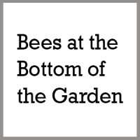 Bees at the bottom of the garden, logo, Holmes Chapel, Junction 18