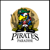 Pirates Paradise Holmes Chapel Logo
